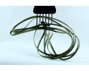 Шнурок для очков темно зеленый