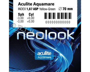 Aculite 1.67 AS Aquamare