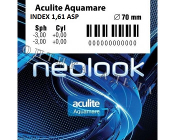 Aculite 1.61 AS Aquamare