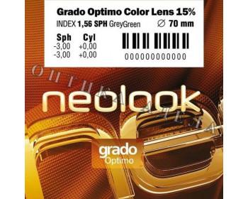 Grado 1.56 Tinted 15% brown/gray Optimo