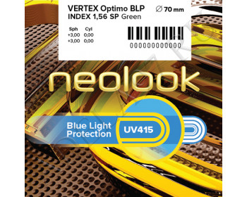 Vertex 1.56 SP BLP (Blue Light Protection) Optimo