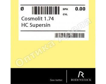 Cosmolit 1.74 HC Supersin