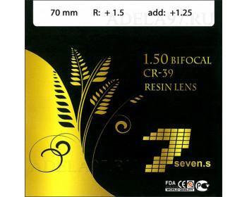 1.50 Bifocal CR-39 Resin Lens