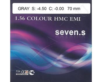 1.56 Color HMC EMI 20% brown/gray