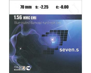 1.56 HMC EMI Blue-Coated Diamond-Hard Resin Lens