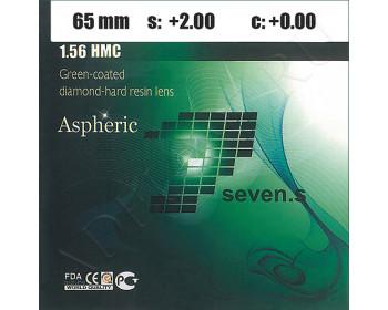 1.56 AS HMC Green-Coated Diamond-Hard Resin Lens