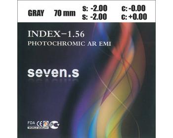 1.56 Photochromic HMC Brown/Grey