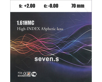 1.61 High-Index Aspheric Lenses